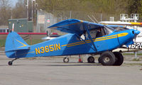 N3651N @ LHD - 1947 Piper Pa-12 at Lake Hood