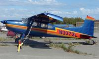 N3373L @ LHD - Cessna A185E at Lake Hood