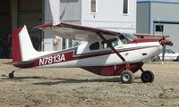 N7813A @ LHD - 1956 Cessna 180a at Lake Hood