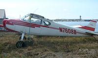 N7608B @ LHD - 1957 Cessna 170B at Lake Hood