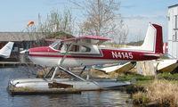 N4145 @ LHD - Cessna 180A at Lake Hood