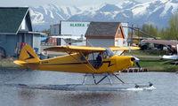 N3761M @ LHD - 1947 Piper Pa-12 at Lake Hood