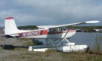 N180RD @ LHD - 1955 Cessna 180 at Lake Hood