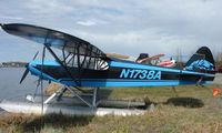 N1738A @ LHD - 1952 Piper Pa-18 at Lake Hood