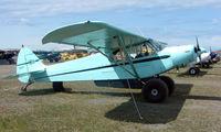 N1597P @ LHD - Piper Pa-18-135 at Lake Hood
