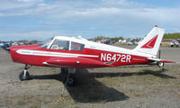 N6472R @ LHD - Piper Pa-28-140 at Lake Hood