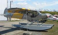 N82907 @ LHD - Piper Pa-18-150 at Lake Hood