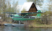 N5399D @ LHD - Cessna 180A at Lake Hood