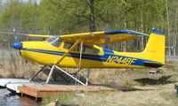 N2448F @ LHD - Cessna 180H at Lake Hood