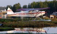 N4755E @ LHD - Piper Pa-18 at Lake Hood