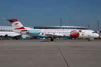 OE-LVK @ VIE - Austrian Arrows Fokker 100