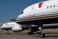 EC-HDS @ VIE - Priviledge Boeing 757-200
