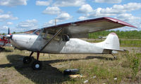 N515N @ 95Z - 1951 Cessna 170A at Bradley Skyranch , North Pole , AK