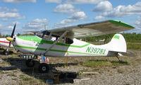 N39781 @ 95Z - Cessna 170b at Bradley Skyranch , North Pole , AK