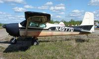 N4977D @ 95Z - 1958 Cessna 182A at Bradley Skyranch , North Pole , AK