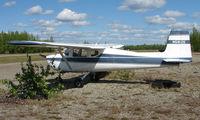 N5912E @ 95Z - Cessna 150 at Bradley Skyranch , North Pole , AK