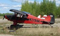 N7709K @ 95Z - 1950 Pa-20 at Bradley Skyranch , North Pole , AK