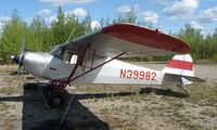 N39982 @ 95Z - 1946 Taylorcraft BC12D-85 at Bradley Skyranch , North Pole , AK