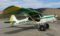N1132H @ HRR - 1948 Aeronca 15AC at Healy River Strip , AK
