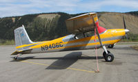 N9406C @ HRR - Cessna 180 at Healy River