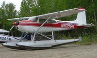 N9096M @ UUO - Cessna 180H at Willow AK