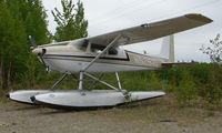 N5291D @ UUO - Cessna 180A at Willow AK