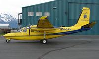 N909AK @ PAQ - Aero Commander 500S at Palmer AK
