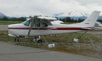 N7368E @ PAQ - Cessna 210 at Palmer AK