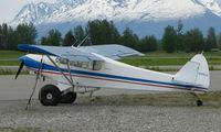 N3764Z @ PAQ - Piper Pa-18-150 at Palmer AK