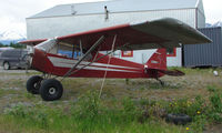 N4620M @ PAQ - 1947 Piper Pa-11 at Palmer AK