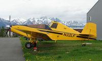 N32LF @ PAQ - Unusual aircraft - Rockwell S-2R-800 at Palmer AK