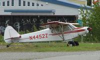 N4452Z @ PAQ - Piper Pa-18-150 at Palmer AK