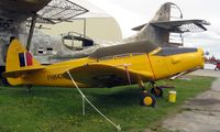 N58749 @ LHD - Fairchild M-62A-3 outside Lake Hood Museum