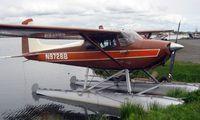 N9728B @ LHD - Cessna 180A at Lake Hood