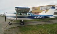 N1834Q @ LHD - Cessna U206F at Lake Hood