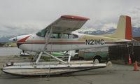 N21MC @ LHD - Cessna 180H at Lake Hood