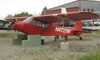 N4722M @ LHD - 1947 Piper Pa-11 at Lake Hood