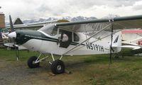 N5191H @ LHD - 1949 Piper Pa-14 at Lake Hood