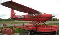 N9414C @ LHD - Cessna 180 at Lake Hood