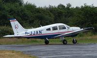 G-JJAN @ EGLK - Piper Pa-28-181 at Blackbushe