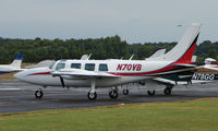 N70VB @ EGLK - Ted Smith Aerostar 600 at Blackbushe
