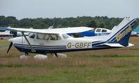 G-GBFF @ EGLK - Cessna F172N at Blackbushe