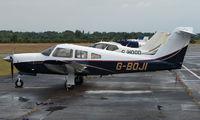 G-BOJI @ EGLK - Piper Pa-28Rt-201 at Blackbushe