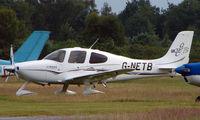 G-NETB @ EGLK - Cirrus SR22 at Blackbushe