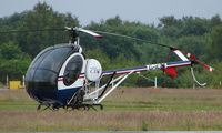 G-ICBI @ EGLK - Schweizer 269C-1 helicopter at Blackbushe