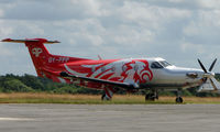 OY-PPP @ EGTF - Smart looking , Danish registered PC-12 at Fairoaks