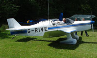 G-RIVE @ EGHP - Jodel D153 At Popham airfield on 2008 LAA Regional Rally Day