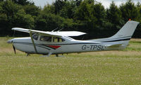 G-TPSL @ EGHP - Cessna 182S at Popham - by Terry Fletcher