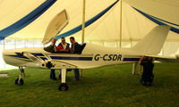 G-CSDR @ EGHP - Not formerley registered yet but on display at the 2008 LAA meet at Popham