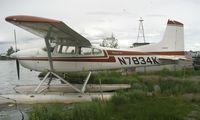 N7834K @ LHD - Cessna 180J at Lake Hood